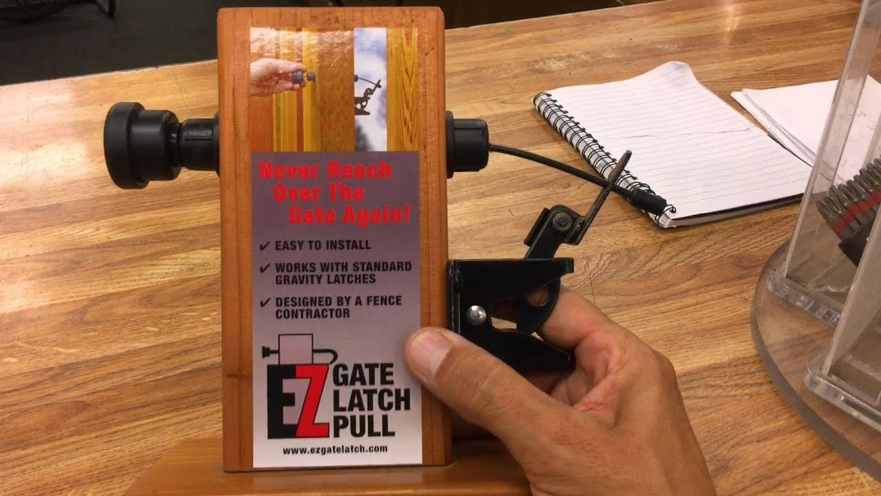 EZ Gate Latch Pull  Best One I've Seen!