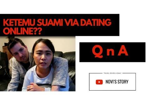 QNA || KENAL DI ONLINE DATING ? || SUAMI BULE  CINTA INDONESIA