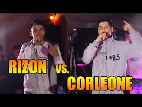 ОБЗОР! Battle Corleone vs. Rizon (RAP.TJ)