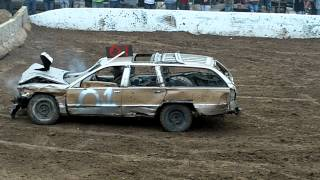 Boone County Fair Demolition Derby Stock Class 2012