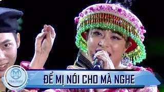 Mãn nhãn cùng ĐỂ MỊ NÓI CHO MÀ NGHE của Hoàng Thùy Linh trong đêm chung kết Miss World VN