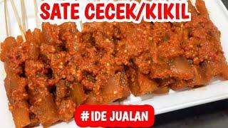 RESEP SATE CECEK PEDAS - Resep Sate Kikil