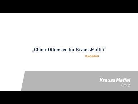 Positive press responsive: ChemChina to list KraussMaffei on the Shanghai Stock Exchange