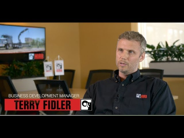 Terry Fidler describes what life is like on the inside at Hiab USA