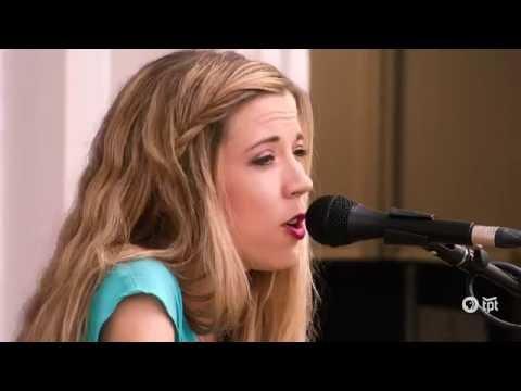 Sarah Morris at Almanac - singing Brighter