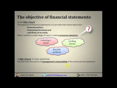 ICAB | PS-KL | Accounting | Chapter 1 | Introduction to accounting