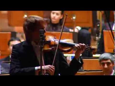J.S.Bach, Gavotte from the Partita BWV 1006 in E Major. Maxim Kosinov, violin