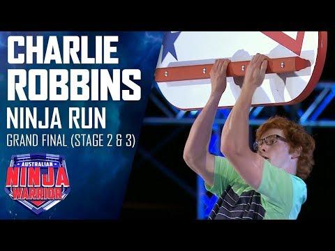 Charlie Robbins goes the Furthest Fastest in the Grand Final   Australian Ninja Warrior 2019