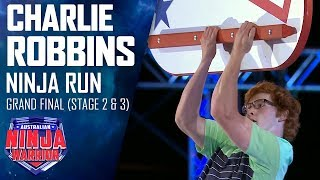 Charlie Robbins goes the Furthest Fastest in the Grand Final | Australian Ninja Warrior 2019