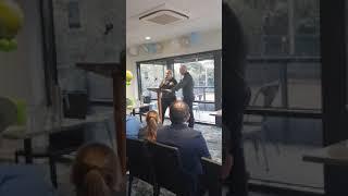 Jelena Dokic interview at The Beaumauris Lawn Tennis Club