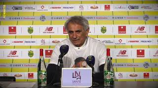 FC Nantes - AS Saint-Etienne : la réaction de Vahid Halilhodzic