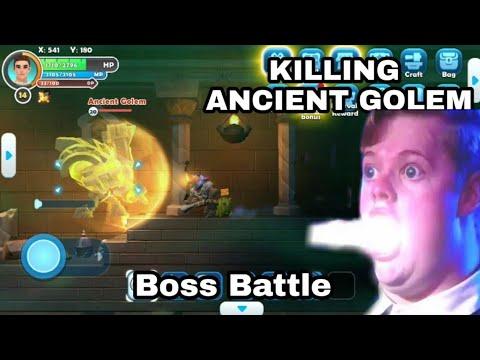 Boss Battle: Ancient Golem | Craft Legend | Part 4