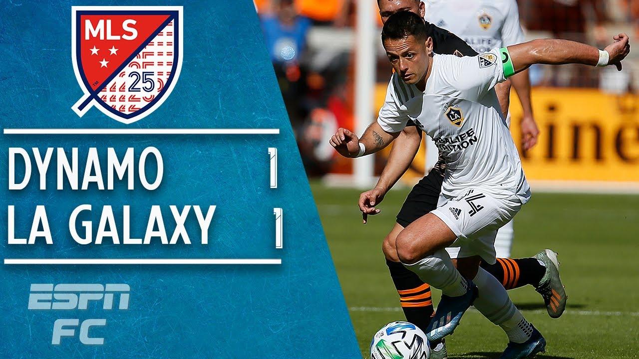 Chicharito goalless in LA Galaxy vs. Houston Dynamo season opener   2020 MLS Highlights