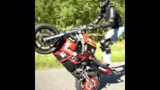 Leśny Stunter - wheelie