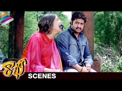 NTR Gets Emotional at the Graveyard | Rakhee Telugu Movie Scenes | Ileana | Telugu Filmnagar