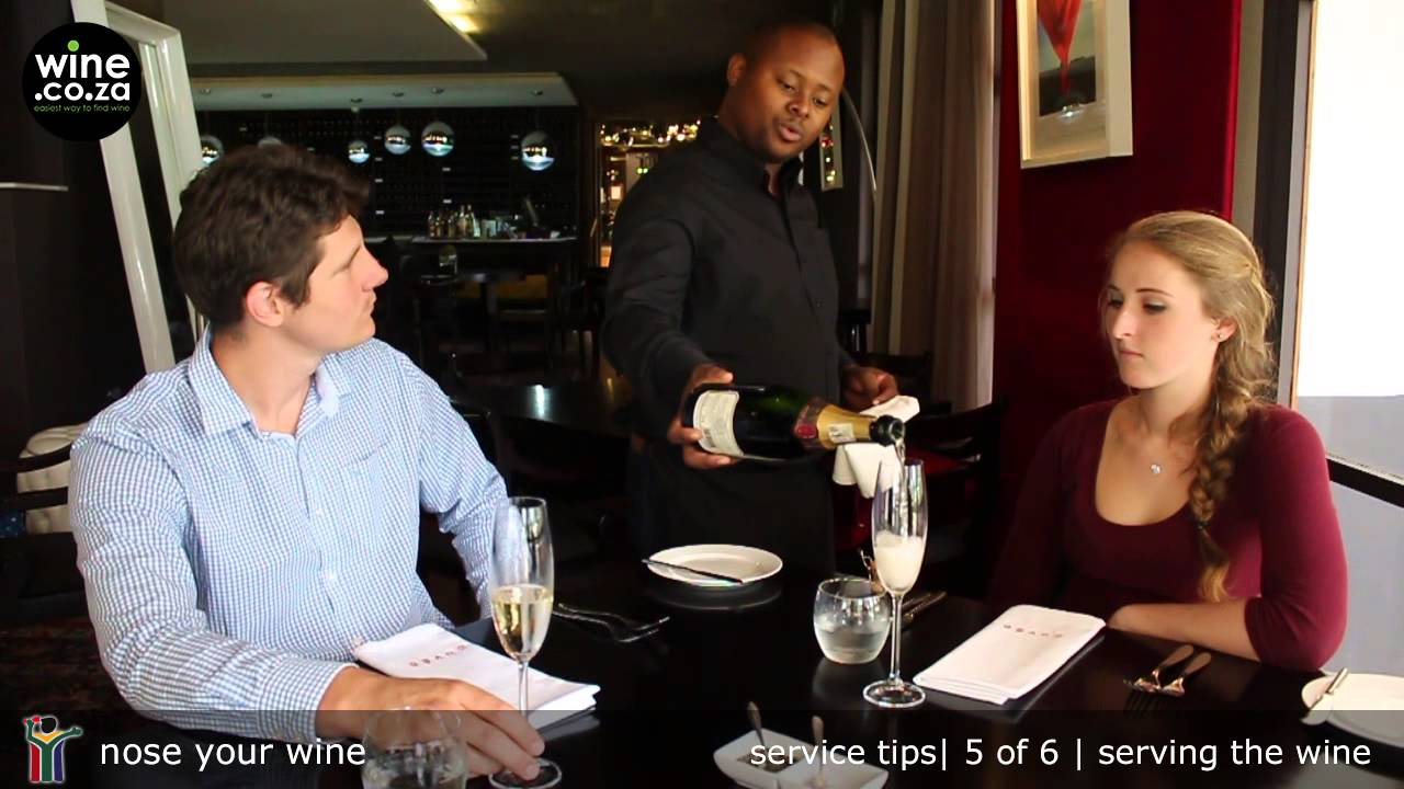 Serving Wine To The Table 5 Of 6 Service Tips Youtube