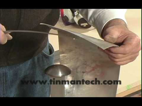 Spring Steel Spoon Metalworking Hand Tools Youtube