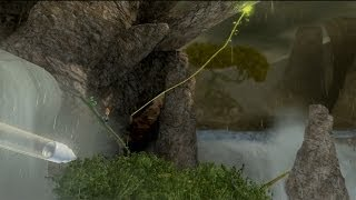 Max The Curse of Brotherhood Xbox One chapter 4-2 The Great Fall gameplay
