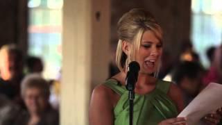 Jenna's Maid Of Honor Speech (7/12/13)