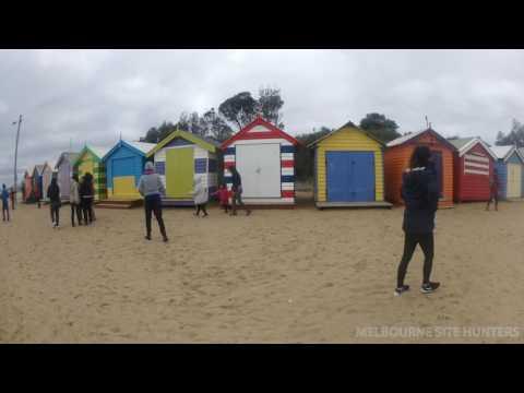 Brighton Beach Bathing Box Huts 2016