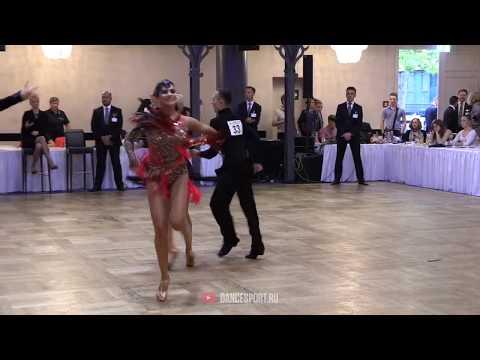 German Pugachev - Ariadna Tishova RUS, Jive, German Open Championships 2019