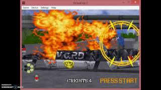 Virtual Cop 2 - the old version FPS game !