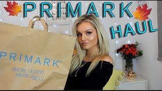 HUGE PRIMARK TRY ON HAUL! | AUTUMN 2018 *AUTUMN OUTFITS*
