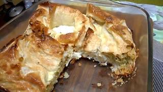 ЛЕНИВАЯ БАНИЦА.  Суперский пирог почти по болгарскому рецепту.