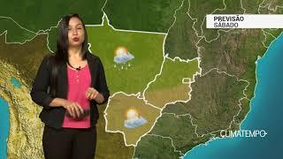 Previsão Centro-Oeste – Chuva isolada