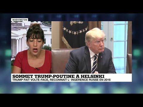 Après le fiasco du sommet avec Poutine, Trump contraint de revenir sur ses propos