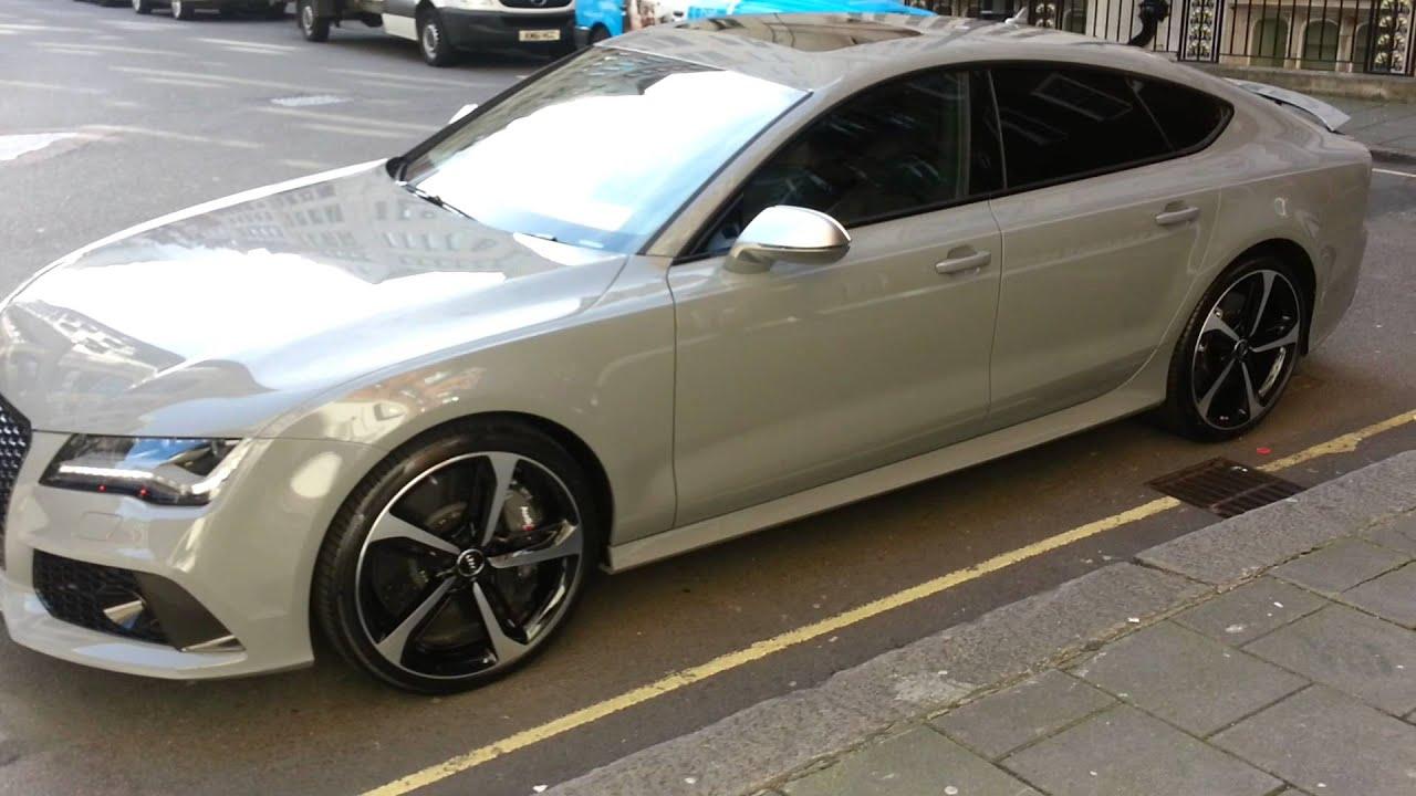 Audi RS 7 Nardo Grey ;) - YouTube