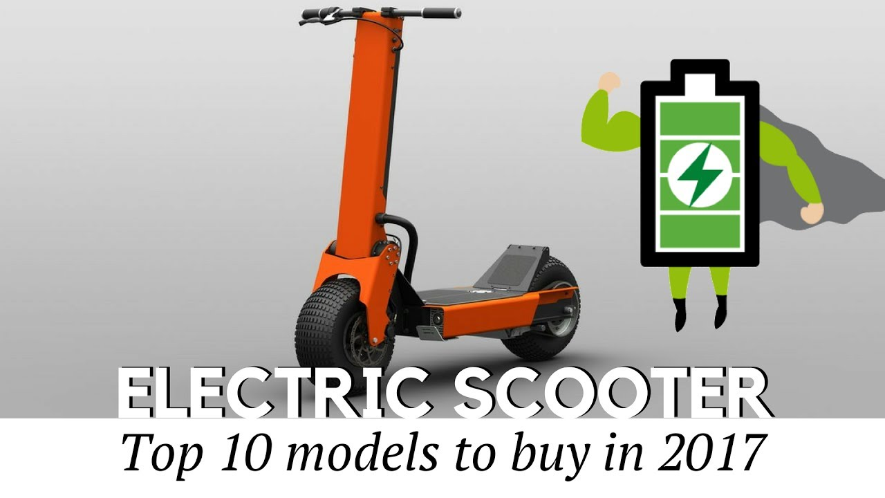 Top 10 Electric Scooters To Today Prices And Specifications Reviewed