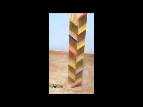 Handmade Wooden Toy - Poky Ramps
