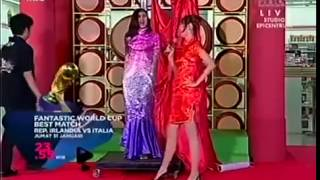 Asian saran wrap bondage (Pesbukers)
