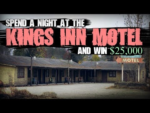 """""""Spend a Night at the Kings Inn Motel and Win $25,000"""" 