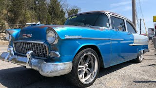 Test Drive 1955 Chevy $24,900 Maple Motors