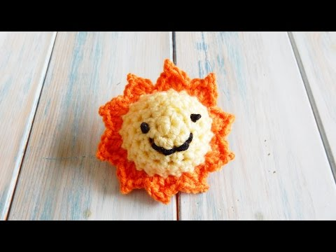 How to Crochet a Sun