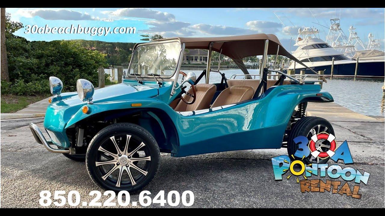 The Super Fun 4 passenger Beach Buggy Rentals for Santa Rosa Beach