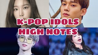 Download KPOP IDOLS HIGH NOTES IN LIVE PERFORMANCES Mp3 and Videos