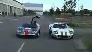 Isdera Erator & Ford GT40