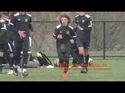 Tyler Coleman, #5 Baltimore Armour U13 vs PA Classics