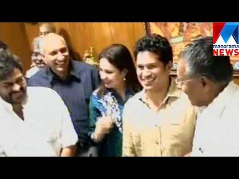 Sachin Tendulkar Meets CM Pinarayi Vijayan | Manorama News