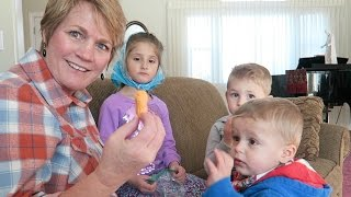 Grandma Takes Care of a Sweet-tooth