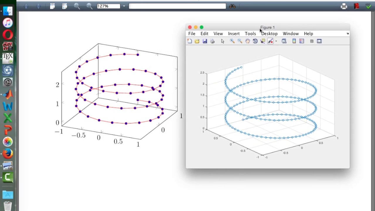Tutorial latex 22 visualisasi lintasan heliks di latex dan matlab latex tutorial 22 visualize helix path in latex and matlab which better ccuart Choice Image