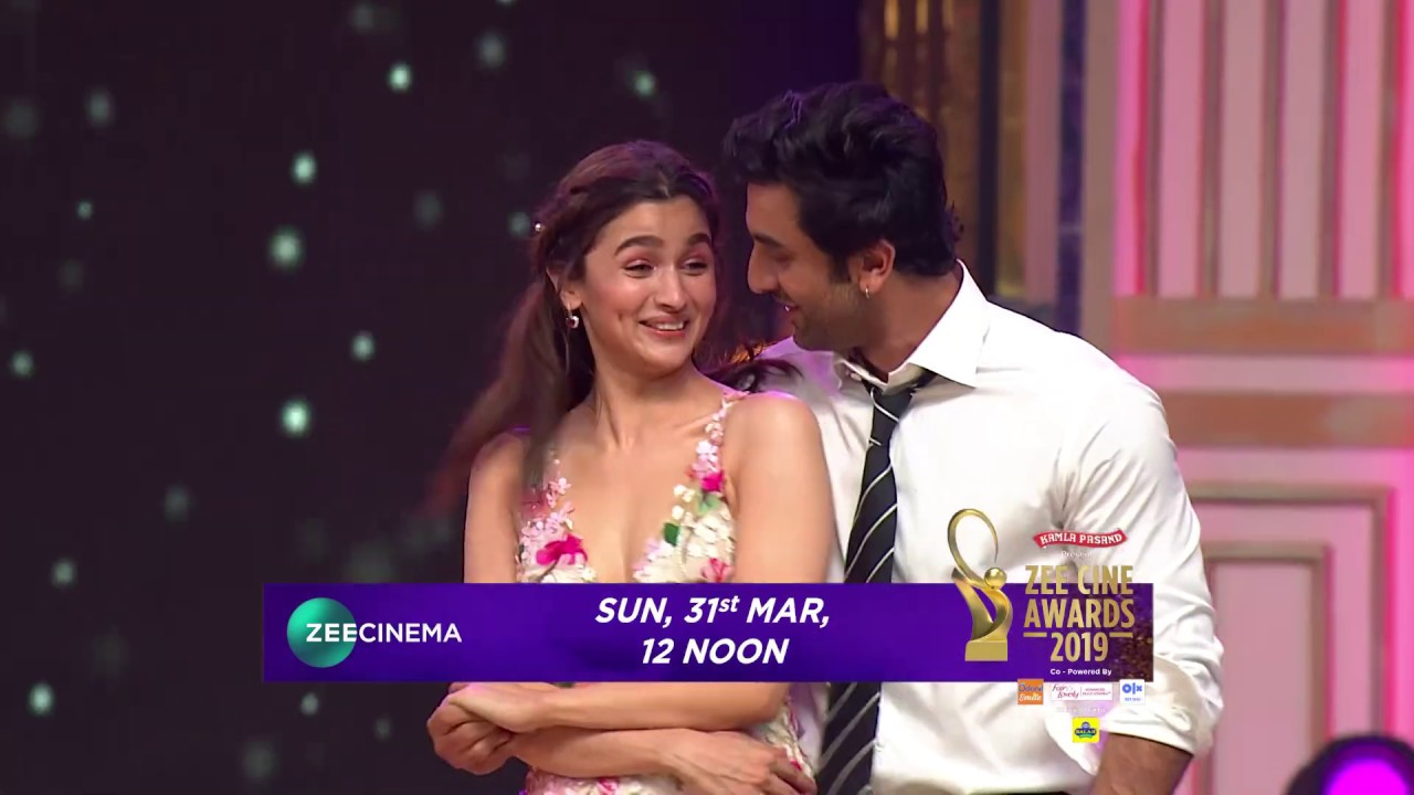 Ranbir Kapoor | Alia Bhatt | Zee Cine Awards 2019 | Sun, 31st March, 12 Noon