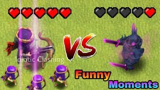 COC Funny Moments, Fails, Glitches, Wins & Trolls Compilation #27 | Clash Of Clans Montage
