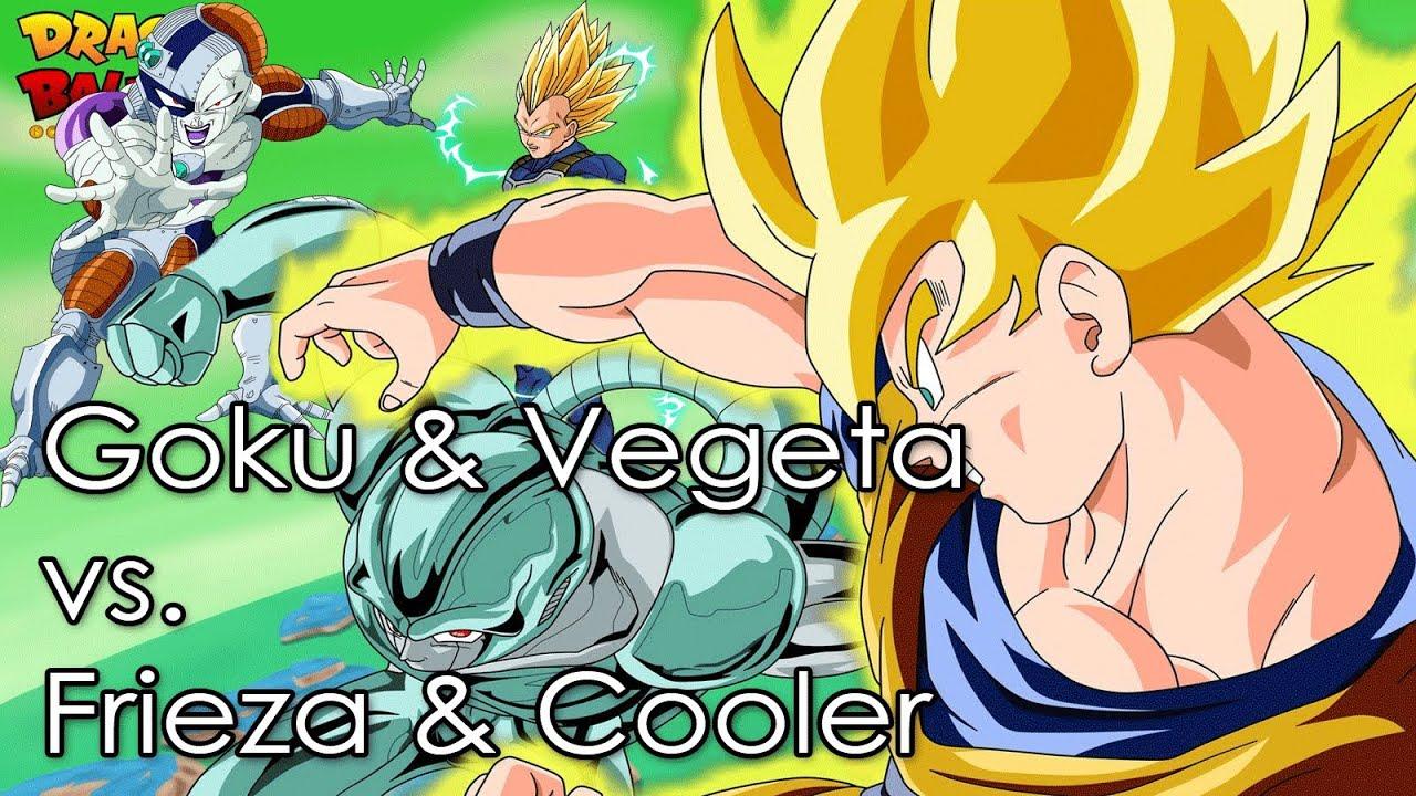Vegeta vs cooler