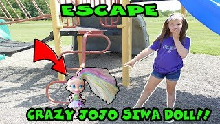 Escape The Crazy JoJo Siwa Doll Part 1! Mystery Box From Sqeazy Toys