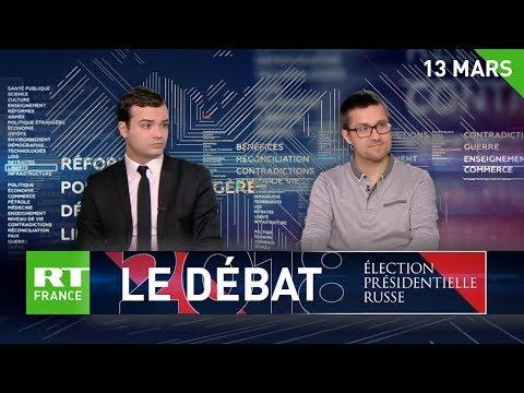 Deux invités politiques PS et LR débattent du scrutin russe pour RT France