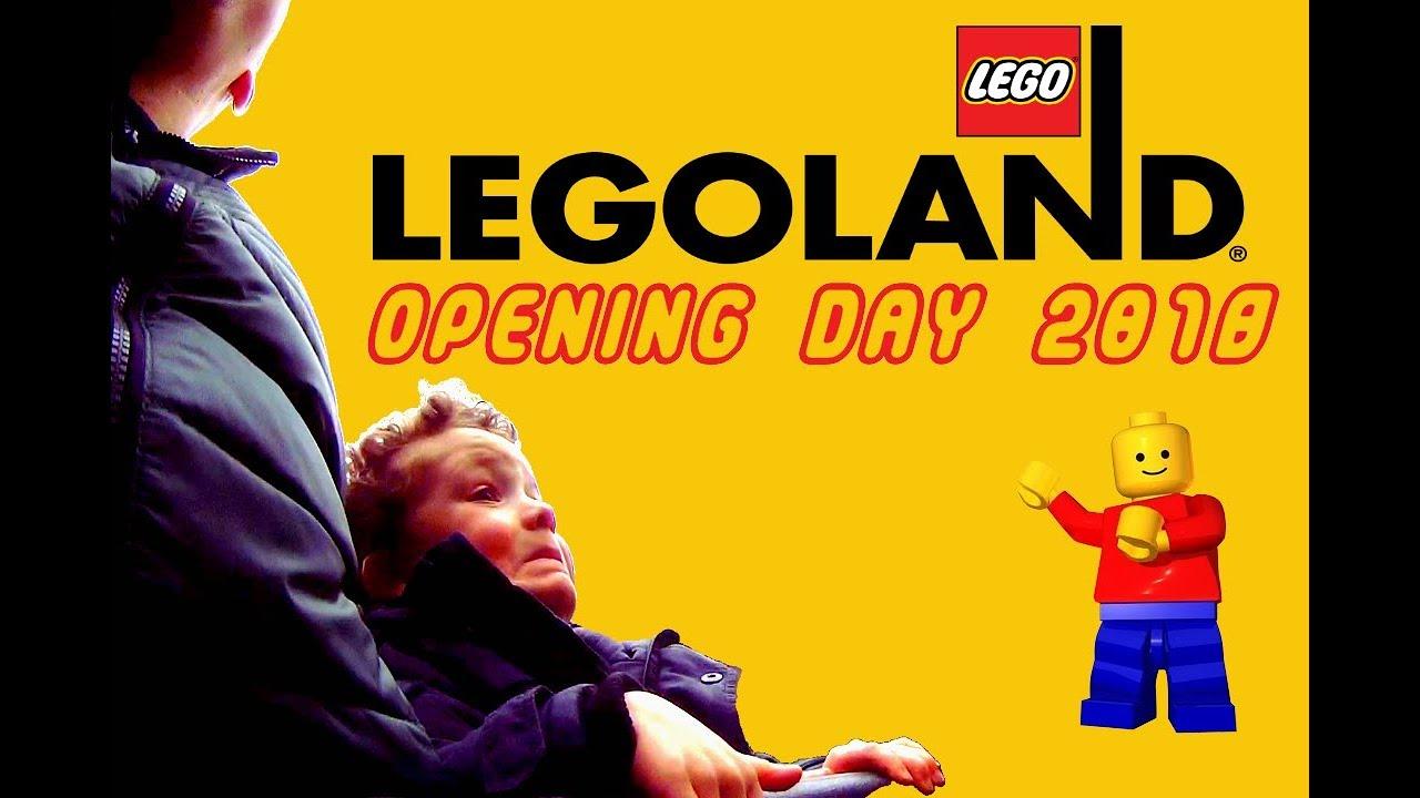 LEGOLAND OPENING DAY 2018 - YouTube